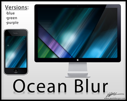 Ocean Blur - Wallpaper by Kevdanclay