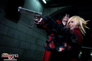 Hellsing Cosplay: Alucard and Seras Victoria: Bang by Maxieyi