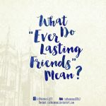 What do Ever Lasting Friends mean? by cathuamuoi
