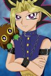 Yami Yugi and Little Kuriboh by ameldasangel