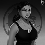 Jacqui Sonya Briggs [Doodle] by JassyCoCo