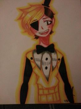 Bill Cipher by XXILOVEAKATSUKIXX