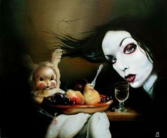 Melissa's Uninvited Guest by AlchemyArtist