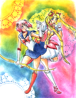 Puella Magi Sailor Moon by KichiMiangra