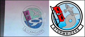 Stormriders Logo Commission by viperaviator