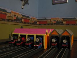 RWS Locations - Tidmouth Sheds Classic by MarzipanHomestar66