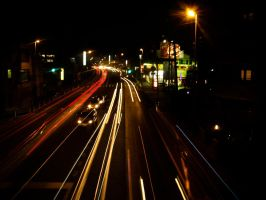 Light Trails by levi88