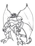 Gargoyles: Steel Clan Robot by Blackbere666