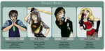 TV Tropes meme: Four Bad Band by Lootushka
