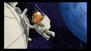 Spaceman David by Davy-Art