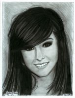 Christina Grimmie Portrait by taljik21