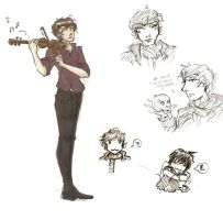 Sherlock Sketches by yamiswift