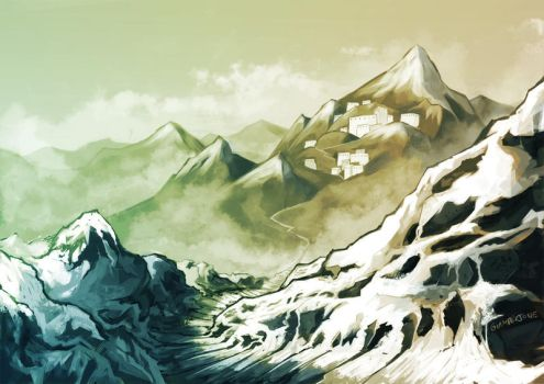 The Lost Kingdom of the Andes by ForWhom