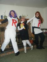 LOL-tasitic Team Rocket by PockyPlus