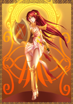 Knight of Golden Steel: Pyrrha Nikos by ARSONicARTZ