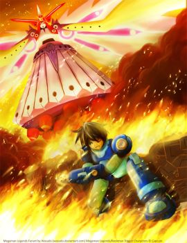 MegaMan Legends - Last Fight by Wasudo