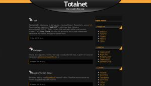 Totalnet Webpage ver. 1 by Yurik86
