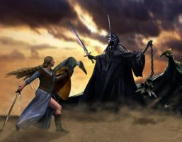 Eowyn and the Witchking 1 by Lady--Eowyn