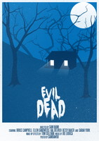 Evil Dead Poster by SamRAW08