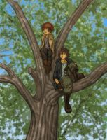 Tree Climbers by kmkho