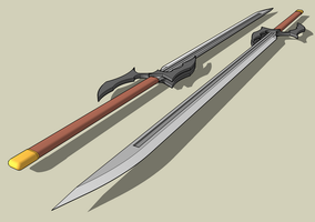 earth bound sword by McDraw