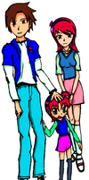 Hikari Family by insanity-in-a-can