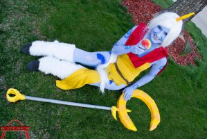 Soraka (League of Legends) by FarorePhotography