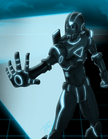 :IRON MAN-TRON VERSION: by TLEEART