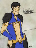 Dominic for AlmightyGamer by shaydh