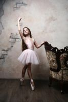 Black and white ballet by DominaWhite