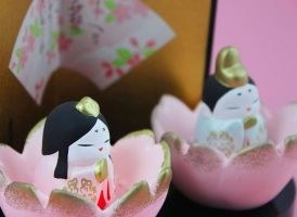 Hina Matsuri Porcelain Dolls-2 by Rea-the-squirrel