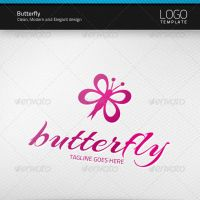 Butterfly Logo by artnook