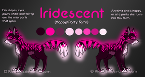 Iridescent -Happy/Party Form- by RiverBelle
