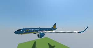 Vietnam Airlines A350-941 by tomisty
