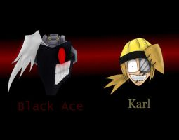 Black Ace and Karl by fkim90