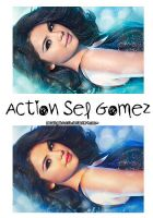 Action Sel Gomez by AmazingObsession