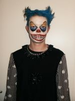 Scary Clown by RevelloDrive1630
