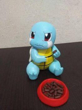 Squirtle eat scene #2 by Magnusgramm