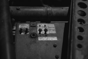 B36 Peacemaker Bomb Bay Light Controls by PLutonius