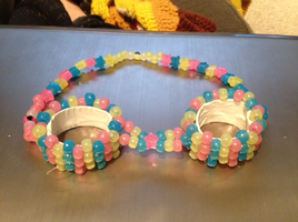 Glow In The Dark Kandi Goggles by anne-t-cats