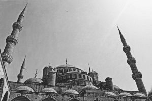 Sultan Ahmed Mosque by dincturk