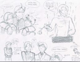 Old Hetalia Sketches by camio105