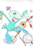 Gogo Dodo - One Toon Band in Color by CandyPeachArtLuver