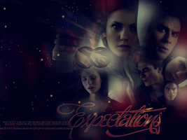Delena Wallpaper by x3Destinyx3