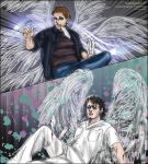 SPN S7.17 fanfic Lucifer/Castiel 'Labyrinth' by noji1203