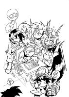 Signing to characters by NachoMon