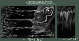 draw this again meme by ParvaLupa
