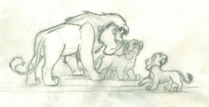 Just For Mufasa (Rough Animation in Progress) by wahyawolf