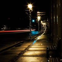 waxhaw at night by DKENNEY