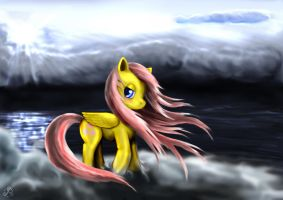 Fluttershy by Taliesin-the-dragoon
